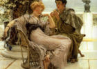 Alma_Tadema_Courtship_the_Proposal