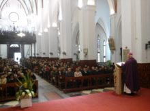 StMass with bishop